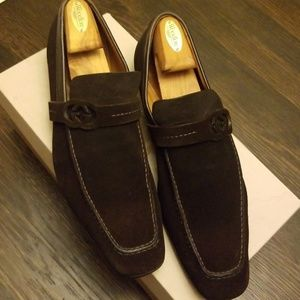 Gucci Shoes - Gucci suede loafers